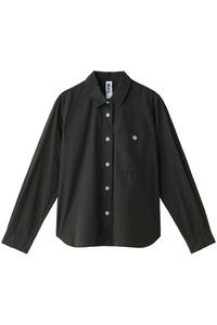 <ELLE SHOP> MARGARET HOWELL マーガレット・ハウエル 【MHL.】コットンシャツ チャコールグレー