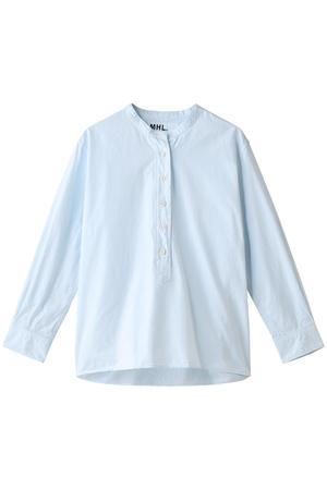 【MHL.】コットンシャツ マーガレット・ハウエル/MARGARET HOWELL