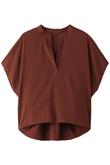Ten/Peツイルスキッパーワイドシャツ エルフォーブル/ELFORBR