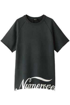 【MEN】裏毛Tシャツ ヌメロ ヴェントゥーノ/N°21