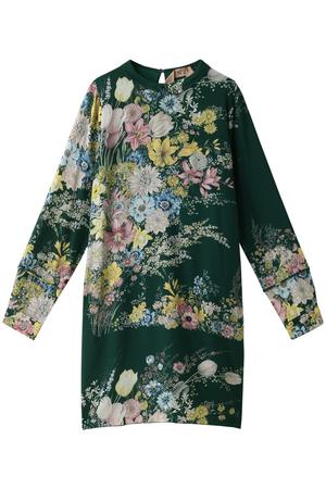 フラワープリントドレス ヌメロ ヴェントゥーノ/N°21
