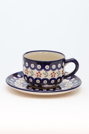カップ&ソーサー ポーリッシュポタリー/Polish Pottery