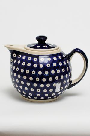 ティーポット ポーリッシュポタリー/Polish Pottery