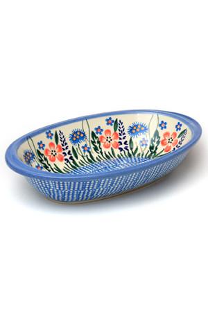 オーブン皿・オーバルS ポーリッシュポタリー/Polish Pottery