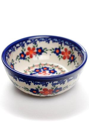 ミニボウル・フラット ポーリッシュポタリー/Polish Pottery