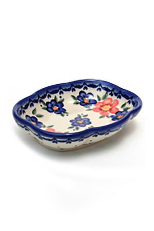 ソープディッシュ ポーリッシュポタリー/Polish Pottery