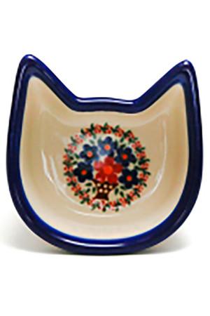 ねこボウル ポーリッシュポタリー/Polish Pottery