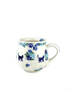 ポーリッシュマグ・小 ポーリッシュポタリー/Polish Pottery