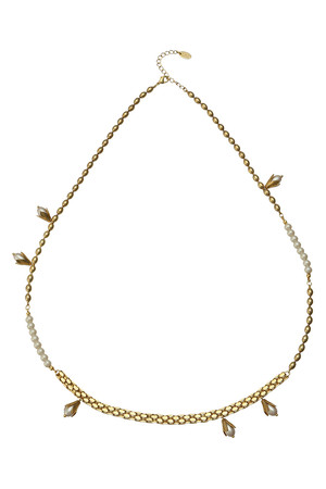 LILY OF VALLEYロングチェーンネックレス アデル ビジュー/ADER.bijoux