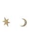 【予約販売】MOON&STAR ピアス アデル ビジュー/ADER.bijoux ゴールド