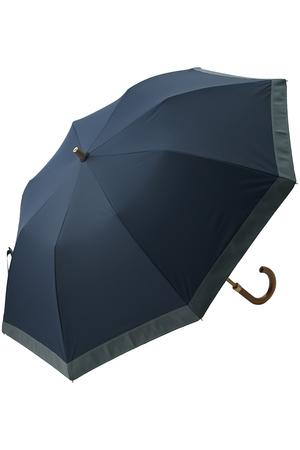 【ELLE SHOP別注】ポリエステル×グログラン折り畳み晴雨兼用傘 アシーナ ニューヨーク/Athena New York