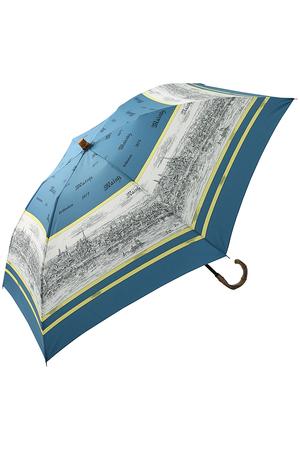 スカーフ柄 晴雨兼用折りたたみ傘