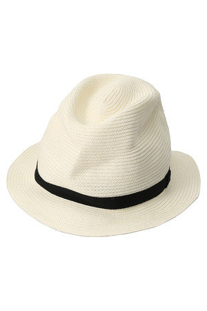 BOXED HAT 4.5cm brim マチュアーハ/mature ha.