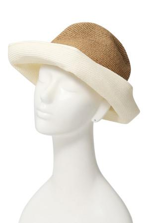 BOXED HAT 11cm brim(バイカラー)
