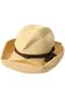 BOXED HAT(11cm brim) マチュアーハ/mature ha. ナチュラル/カーキ