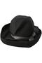 BOXED HAT(11cm brim) マチュアーハ/mature ha. ブラック/グレー