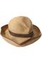 BOXED HAT バイカラー(11cm brim) マチュアーハ/mature ha. ミックスブラウン/ダークブラウン