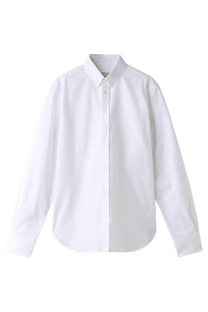 【MEN】EMBROIDERY FOX CLASSIC SHIRT BD メゾン キツネ/MAISON KITSUNE