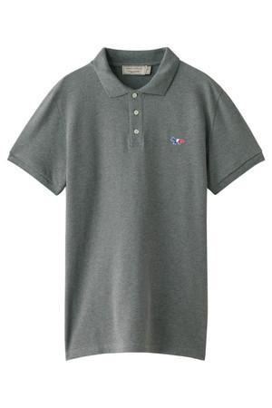 【MEN】Tricolor Patch ポロシャツ メゾン キツネ/MAISON KITSUNE
