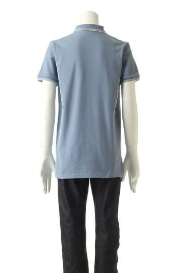 【MEN】RIB STRIPES ポロシャツ メゾン キツネ/MAISON KITSUNE