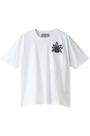 PAISLEY EMBROIDERY Tシャツ メゾン キツネ/MAISON KITSUNE