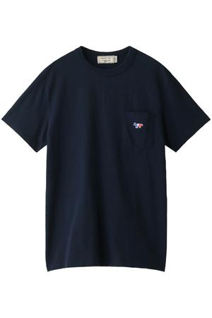 【MEN】TRICOLOR PATCH Tシャツ メゾン キツネ/MAISON KITSUNE