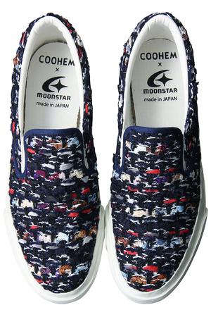 Coohem × MoonStar BLAZER TWEEDスニーカー コーヘン/Coohem