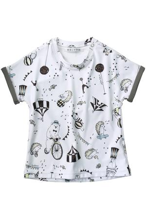 【KIDS】サーカスロールアップTシャツ エロイーズ/HELOYSE