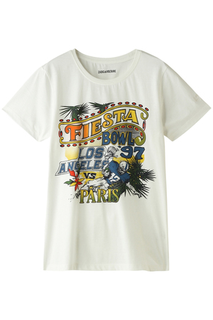 WALKY BIS COTON Tシャツ ザディグ エ ヴォルテール/ZADIG & VOLTAIRE