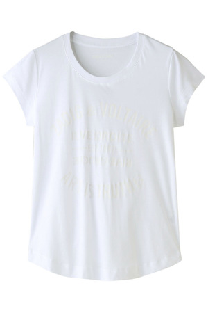 WOOP BIS BLASON SPI COTON Tシャツ ザディグ エ ヴォルテール/ZADIG & VOLTAIRE