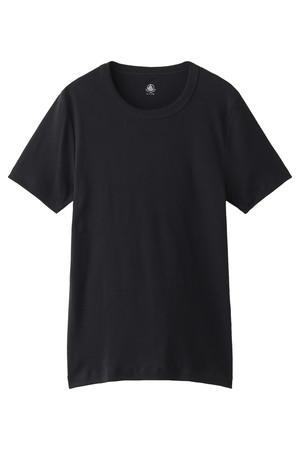【MEN】クルーネック半袖Tシャツ(G) プチバトー/PETIT BATEAU