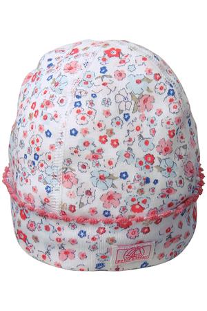 【Baby】フラワープリントキャップ プチバトー/PETIT BATEAU
