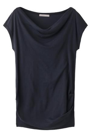 【予約販売】ハーフミラノオフショルダーTシャツ フォーコーナーズ/+FOUR CORNERS