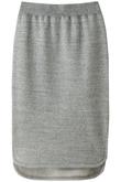 綿ウール裏毛スカート +FOUR CORNERS