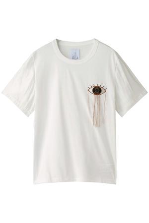 【OKIRAKU】EYE Tシャツ ローズバッド/ROSE BUD
