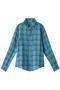 【CP Shades】リネンチェックシャツ ウィム ガゼット/Whim Gazette