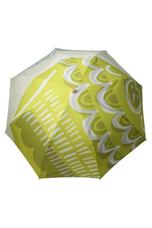 【OTTAIPNU】折りたたみ傘ドットオウル柄 オッタイピイヌ/OTTAIPNU