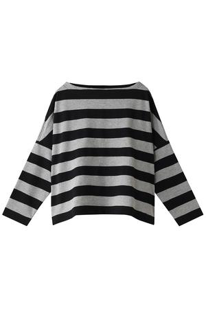 ビッグマリンボートネックシャツ(ワイドピッチ) トラディショナルウェザーウェア/Traditional Weatherwear