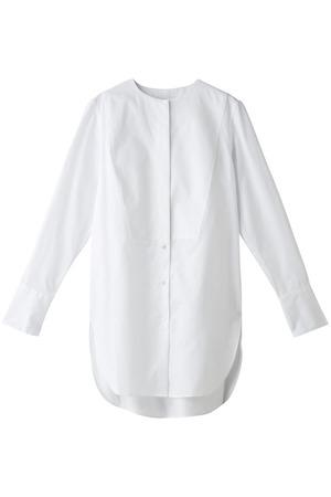 ツイルコットンバイカラーシャツ エブール/ebure