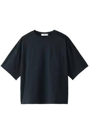 コットンスムースメッシュコンビTシャツ エブール/ebure