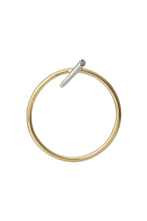 pin hoop ピアス(片耳用) イリスフォーセブン/IRIS 47