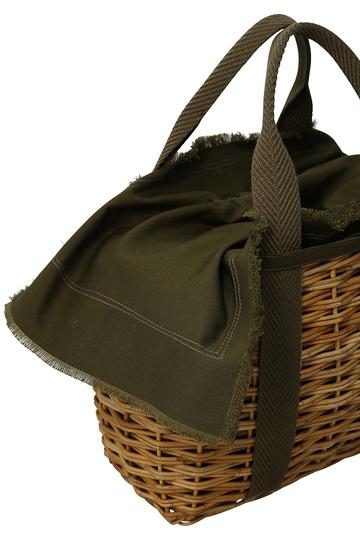 【予約販売】【Flea Store Vegetal】バスケットトートS フリー ストア/Flea Store