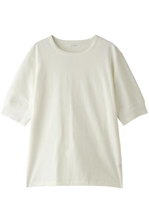 【MEN】PARALLELED YARN HIGH GAUGE HALF SLEEVE TEE/ハーフスリーブTシャツ
