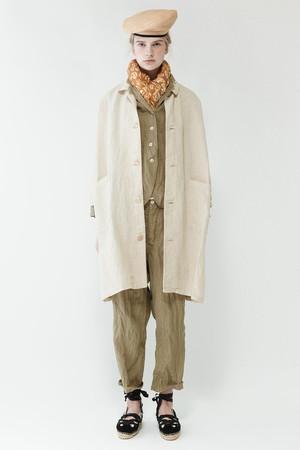 リネン和紙 コート ネストローブ/nest Robe