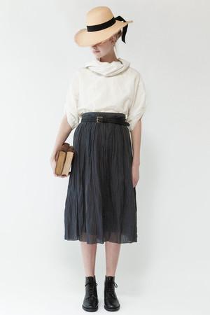 ラミークリンクルギャザースカート ネストローブ/nest Robe