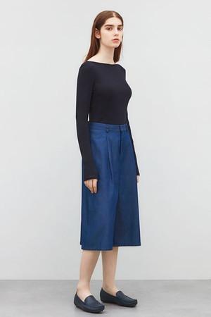 丸胴リブロングTシャツ ビー ピー キュー シー/BPQC