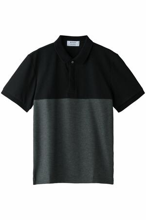 【MEN】DRY鹿の子バイカラーポロシャツ ビー ピー キュー シー/BPQC