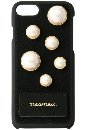 iPhone6&7用 PEARL SET iPhoneケース ニューニュー/newneu.