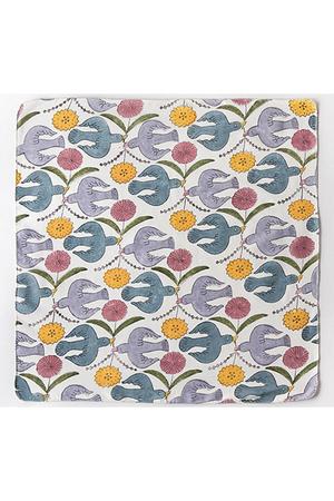 【UNISEX】Woodblock Print Handkerchief