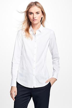 ノンアイロン ストレッチコットン ドレスシャツ Tailored Fit ブルックス ブラザーズ/Brooks Brothers